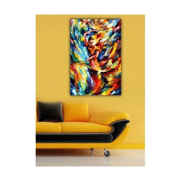 Obraz Tanečnice s vějířem, 60x40 cm
