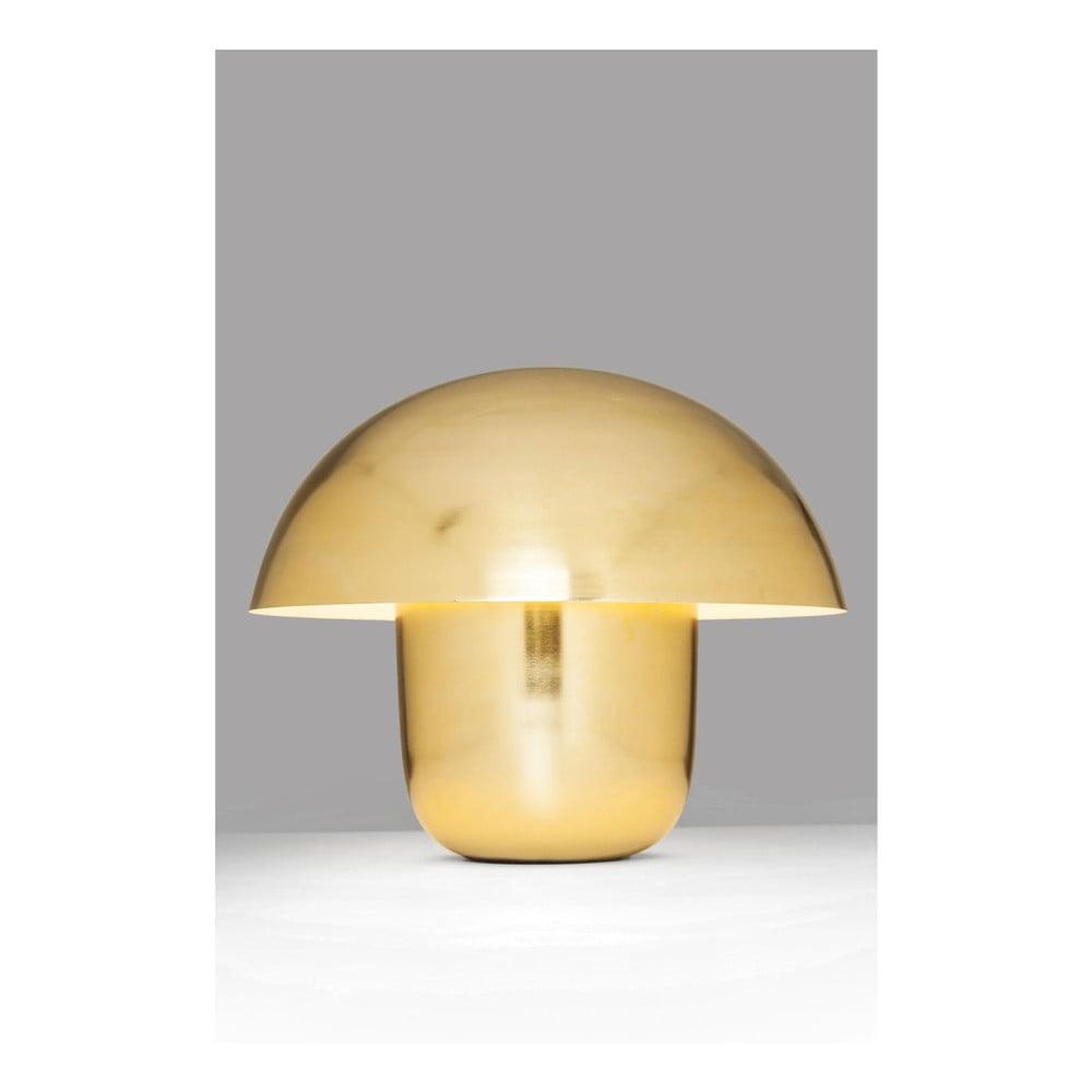 Stolní lampa ve zlaté barvě Kare Design Mushroom