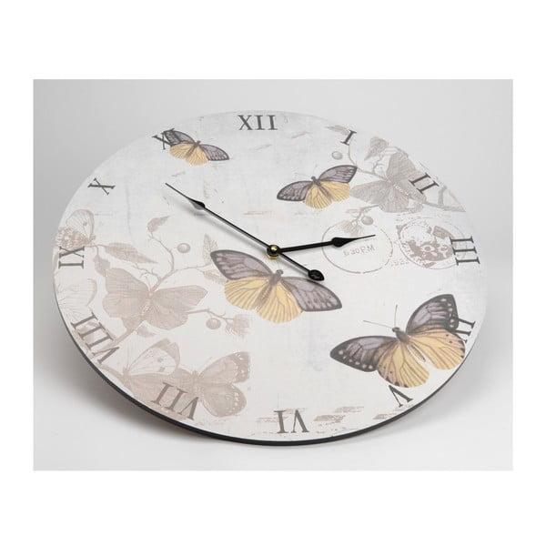 Hodiny Butterflies, 50 cm