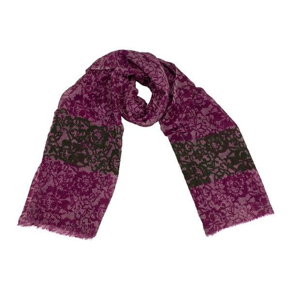 Vlněný šátek Shirin Sehan Amelia Viola