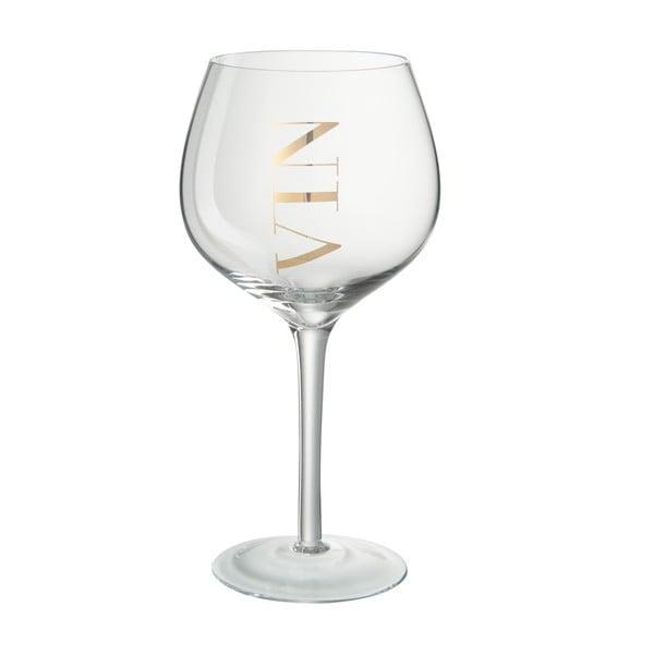 Sklenice na červené víno J-Line Gold Elegance