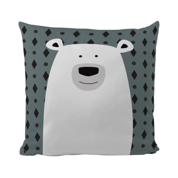 Polštář Mr. Little Fox Polar Bear, 50x50cm