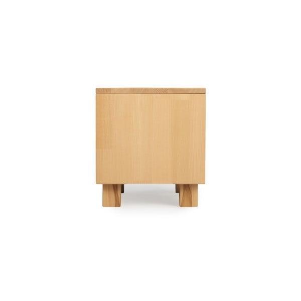 Noční stolek z masivního bukového dřeva SKANDICA Viveca