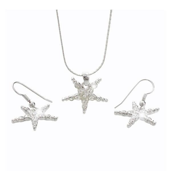 Set náhrdelníků a náušnic s krystaly Swarovski® Yasmine Stars