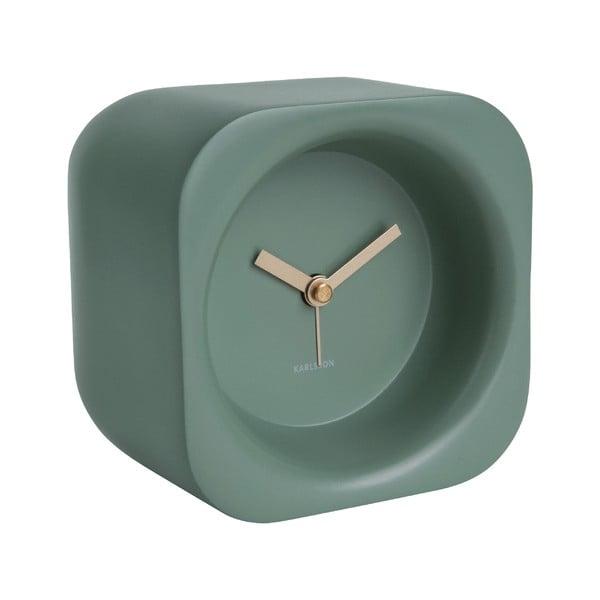 Ceas cu alarmă Karlsson Chunky, verde