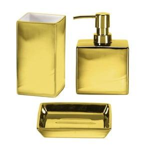 Koupelnový set Glamour Gold