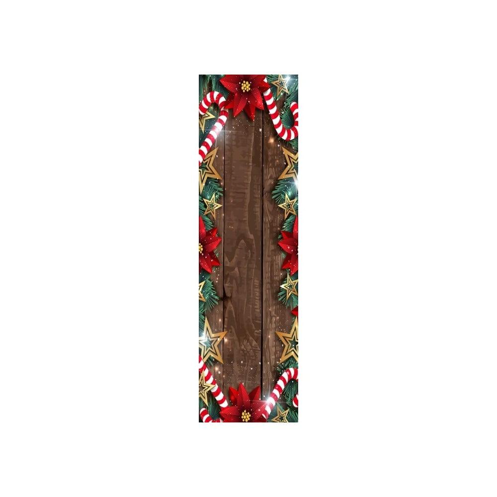 Vánoční běhoun na stůl Christmas Frame, 40 x 140 cm