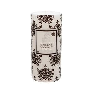 Vonná svíčka Pillar 100 hodin hoření, aroma vanilka a kokos