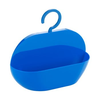 Coș pentru duș Wenko Cocktail Blue, albastru