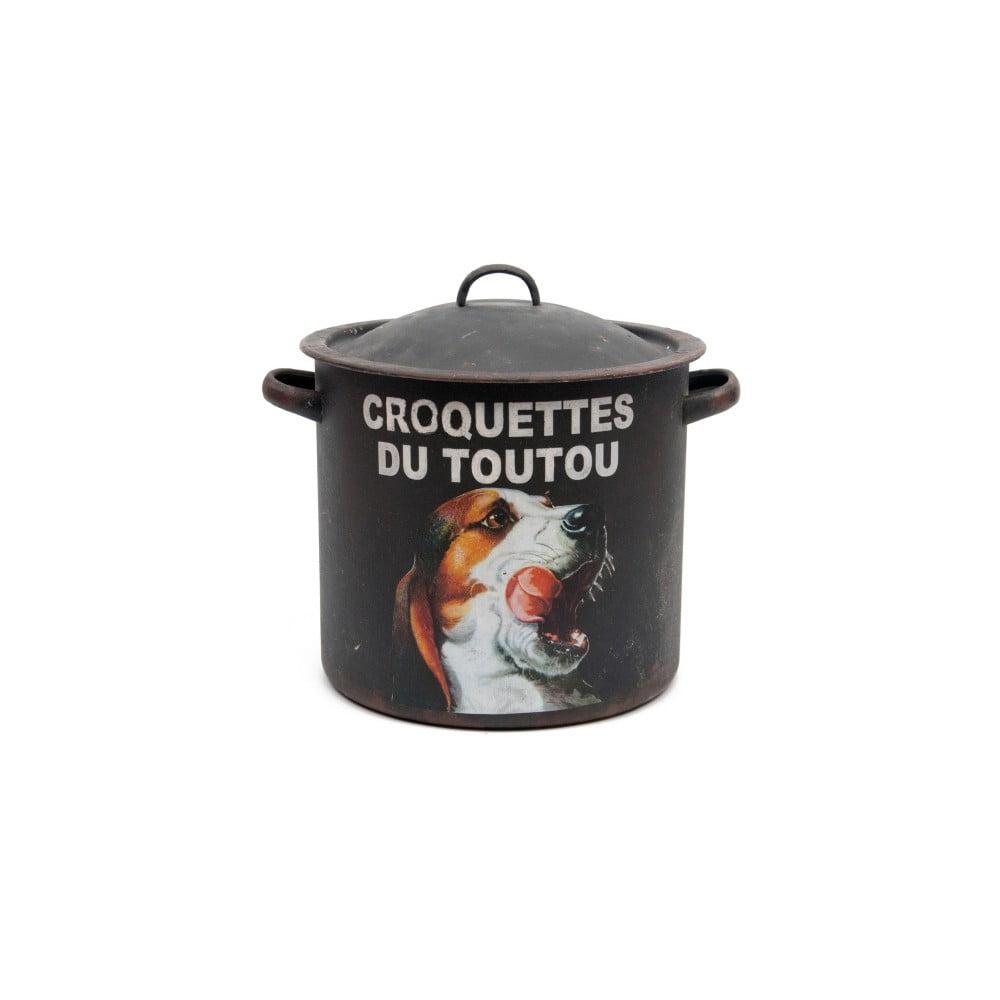 Úložná dóza ze železa Antic Line Croquettes Du Toutou