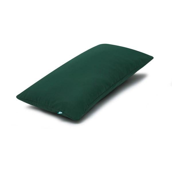 Față de pernă Mumla Basic, 30 x 60 cm, verde închis