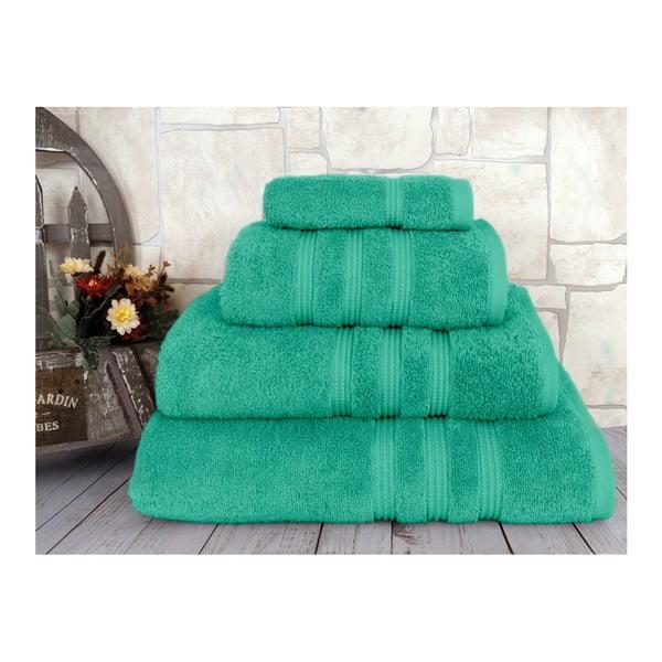 Zelený ručník Irya Home Classic, 30x50 cm