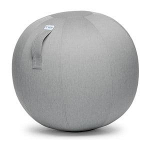 Světle šedý sedací míč VLUV Leiv, Ø70- 75cm