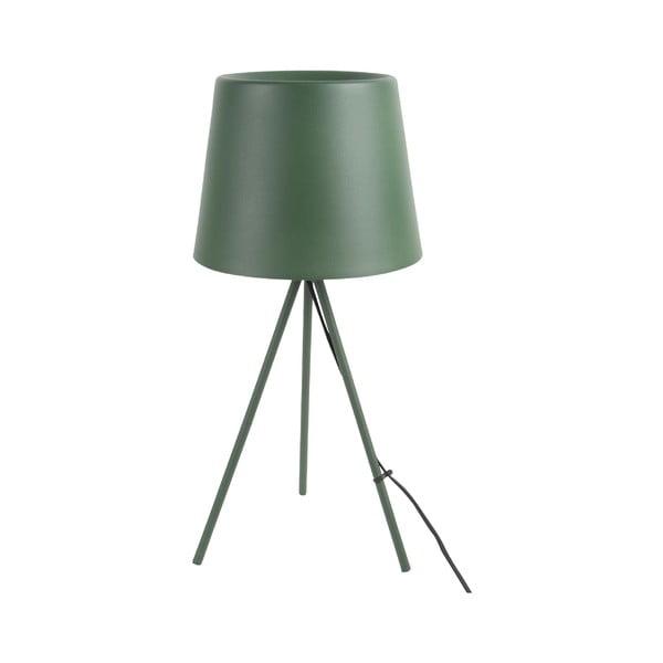 Ciemnozielona lampa stołowa Leitmotiv Classy