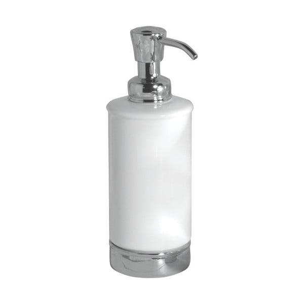 Biały dozownik do mydła iDesign York