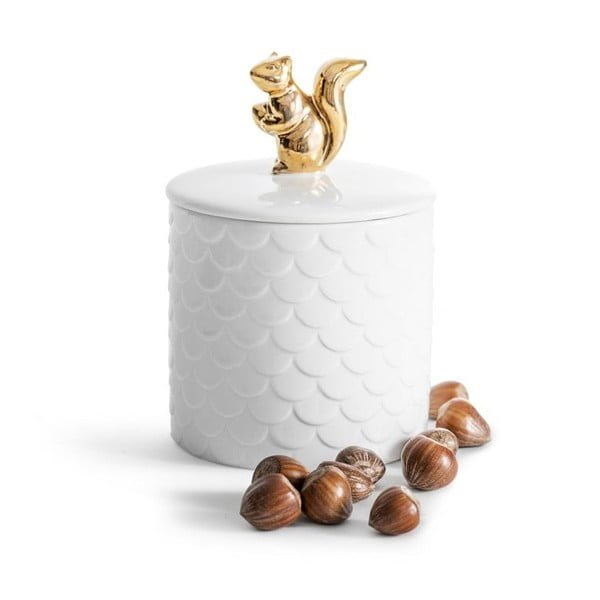 Porcelánová dóza s vekom Sagaform Squirrel