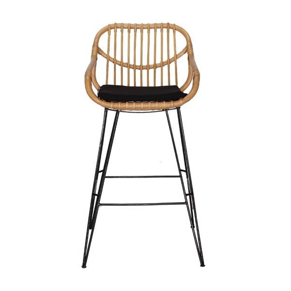 Ratanová barová stolička WOOX LIVING Cali