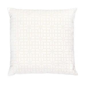 Bílý polštář Casa Di Bassi Whyte Pipi, 50x50 cm