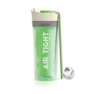 Zelená termolahev Asobu Pump & Chill, 500 ml