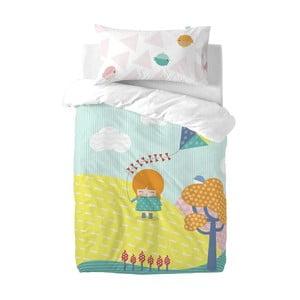 Dětské povlečení z čisté bavlny Happynois Kite, 100x 120cm