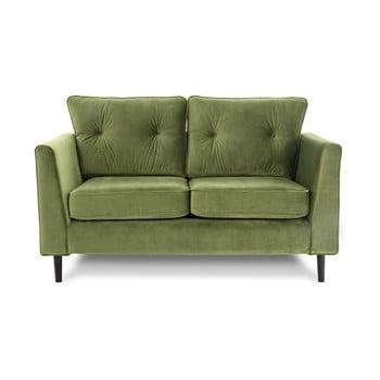Canapea cu 2 locuri VIVONITA Portobello, verde de la Vivonita
