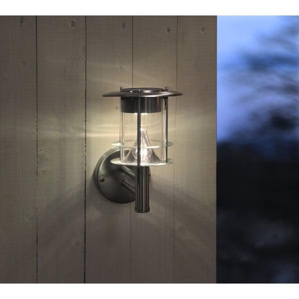 Venkovníní světlo Solar Enerfy Wall Lantern Steel
