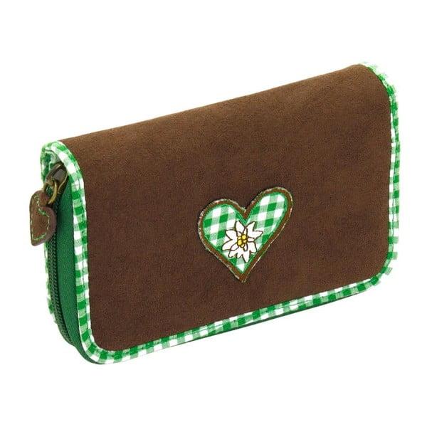 Dámská peněženka Bavaria Fitted Brown/Green
