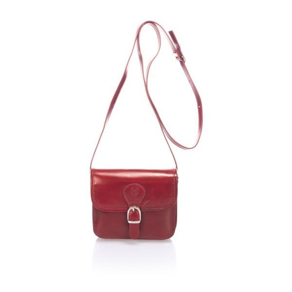 Czerwona torebka skórzana Lisa Minardi Sobralia