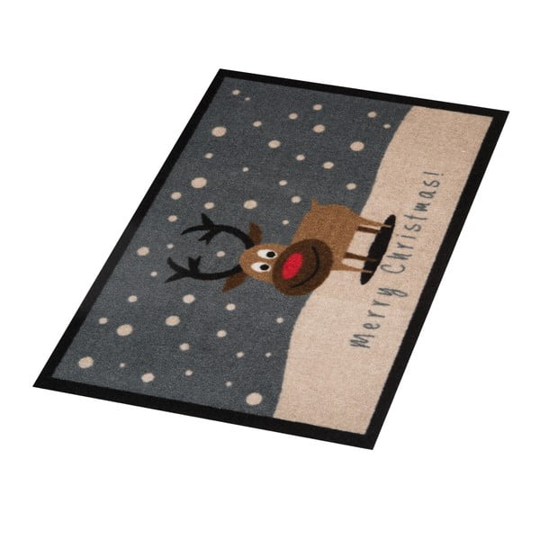 Rohožka Hanse Home Merry Christmas Reindeer, 40x60 cm