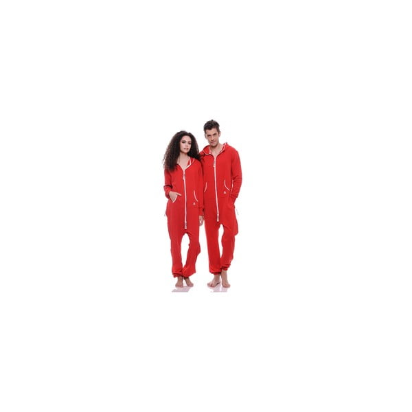 Unisex domácí overal Streetfly Thin Red, vel. S