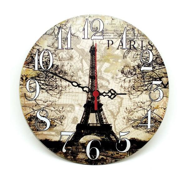 Nástěnné hodiny Lovely Paris, 30 cm