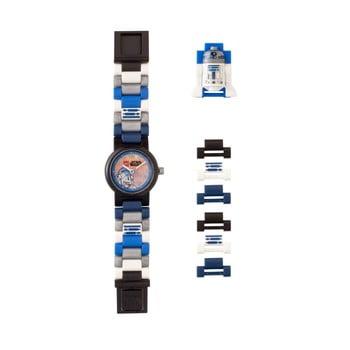 Ceas pentru copii cu figurină LEGO® Star Wars R2D2 de la LEGO®
