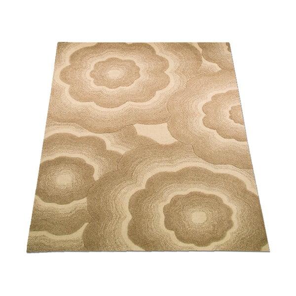 Vlněný koberec Realm 120x180 cm, přírodní