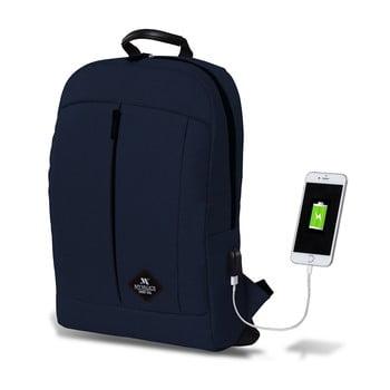 Rucsac cu port USB My Valice GALAXY Smart Bag, albastru închis de la Myvalice
