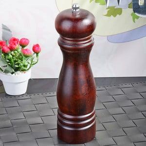 Hnědý bambusový mlýnek na sůl a pepř Luxury