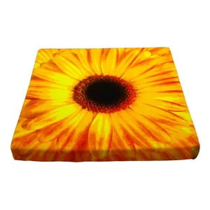 Sedák Flower Yellow 50x50 cm