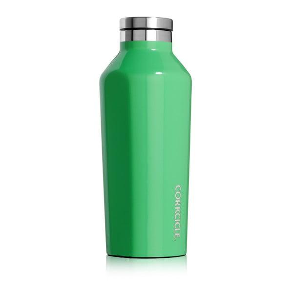 Cestovní termolahev Corkcicle Carribean Green Small, 235 ml