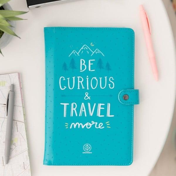 Be curious rendszerező úti okmányok és dokumentumok számára - Mr. Wonderful