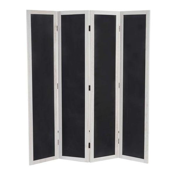 Paravan Black Room, 137x155 cm