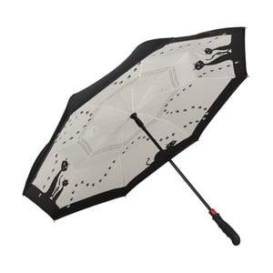 Golfový deštník Von Lilienfeld Black Cats FlicFlac