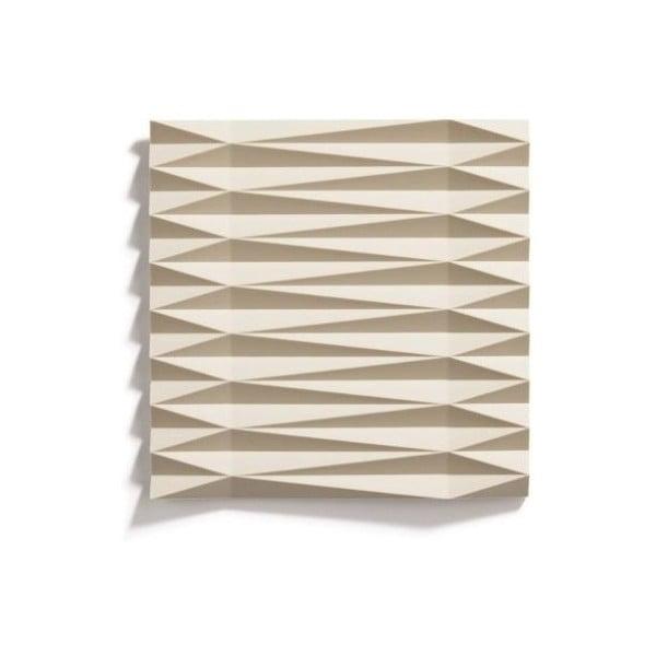 Origami Yato homokbarna szilikonos edényalátét, 16 x 16 cm - Zone