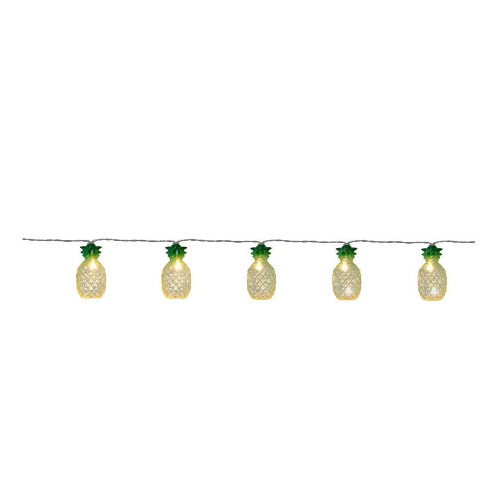 Světelný LED řetěz Best Season Party Pineapple, 10 světýlek