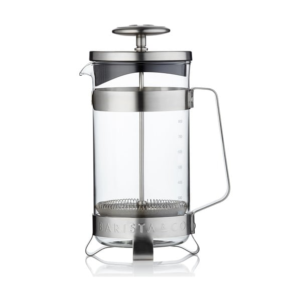 French press Barista 1 l, nerez