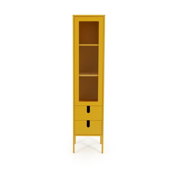 Žlutá vitrína Tenzo Uno, šířka 40cm