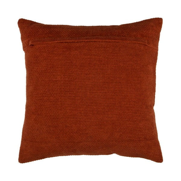 Červený bavlněný polštář De Eekhoorn Craddle, 45x45cm