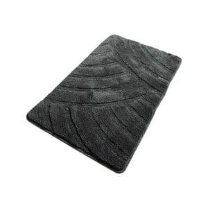 Tmavě šedá koupelnová předložka Confetti Bathmats Alya Fume, 60 x 100 cm