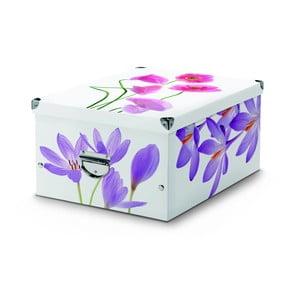 Úložná krabice Cosatto Flowers, 53x39 cm