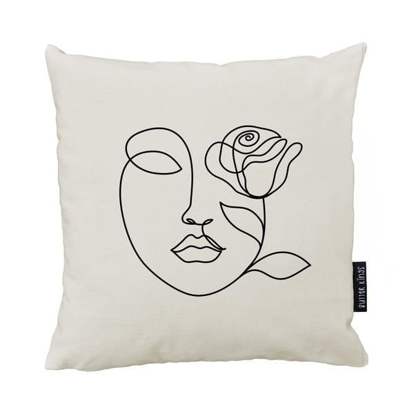 Polštář Butter Kings z bavlny Rose, 50 x 50 cm