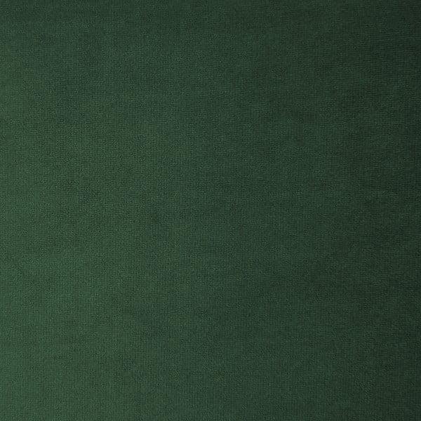 Emeraldově zelená třímístná modulová pohovka s podnožkou Vivonita Velvet Cube