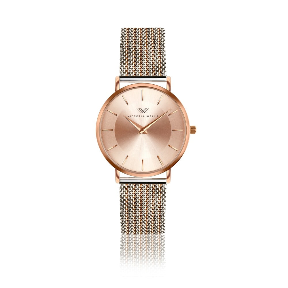 Dámské hodinky s páskem z nerezové oceli Victoria Walls Emma